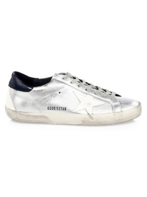 Metallic Superstar Sneakers by Golden Goose Deluxe Brand