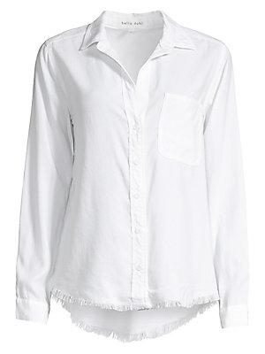 2335eb6e8 Bella Dahl - Frayed Hem Button-Down Shirt - saks.com