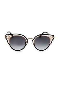 409b213f3050 QUICK VIEW. Jimmy Choo. Dhelia 48MM Panthos Sunglasses