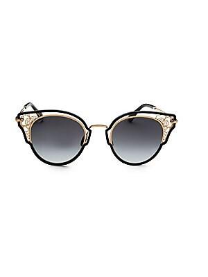 6e56bf7d89 Jimmy Choo - Dhelia 48MM Panthos Sunglasses - saks.com