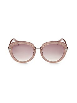 3efac03747 Jimmy Choo. Moris 52MM Round Sunglasses