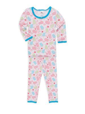 Popsicle Print Pajama Set