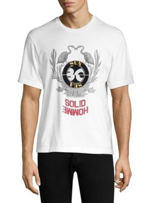 Solid Homme Wreath Logo T-Shirt