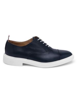 Thom Browne  Cap Toe Leather Oxfords