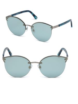 Web Blue Tortoise Shell Sunglasses