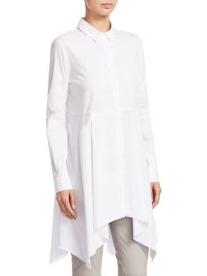 FABIANA FILIPPI Cottons Camicione Con Fondo Dress Shirt