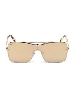 Web. 134MM Shield Square Sunglasses b91f7b7cdfe7