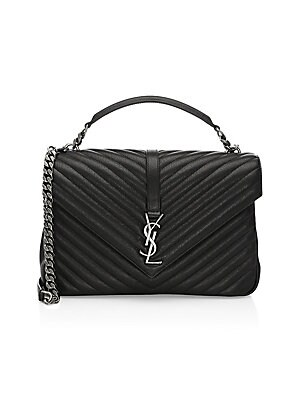 d5c77e524c Saint Laurent - Large Embossed Leather Envelope Bag - saks.com