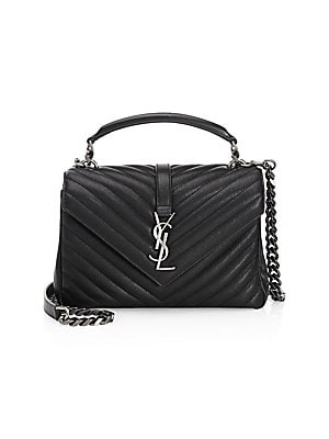 685f8ad56d0a Saint Laurent - Medium Collège Matelassé Leather Bag - saks.com