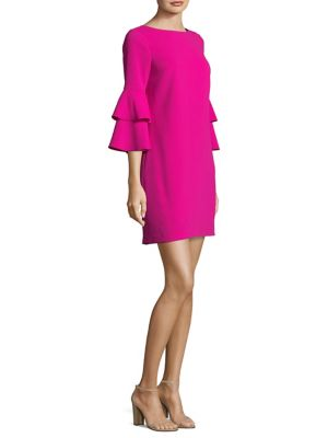 Leona Tier Sleeve Shift Dress by Trina Turk