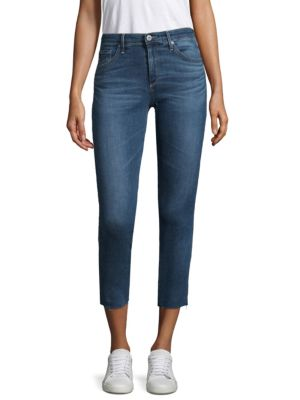 Prima Crop Jeans In Indigo Viking, 5 Years Indigo Avenue