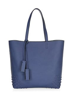 fc48ef2a8ab QUICK VIEW. Tod's. Gommino Leather Stud Tote