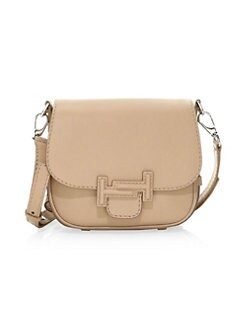 34712a5fc1e4a1 Product image. QUICK VIEW. Tod's. Double T Leather Saddle Bag