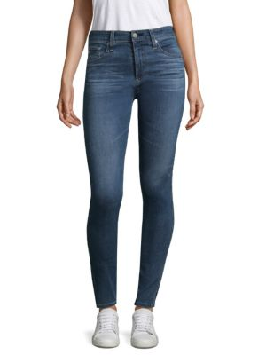 Farah Hi Rise Skinny Ankle Jeans by Ag