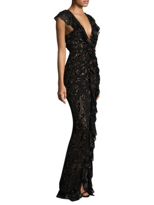 Image of Off Duty Ruched Gown