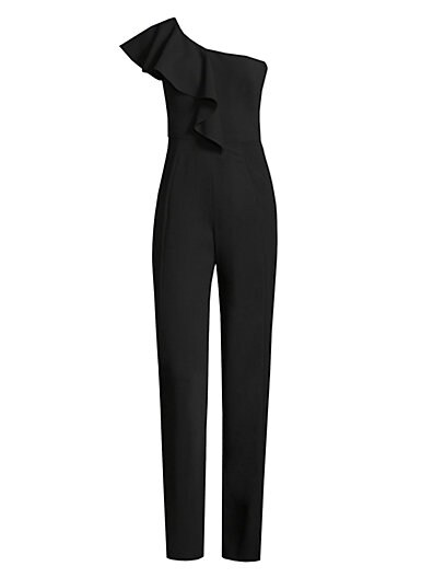be7d534f4e9a Black Halo Kallan Ruffle Jumpsuit on sale at Saks Fifth Avenue for  96.72  was  390