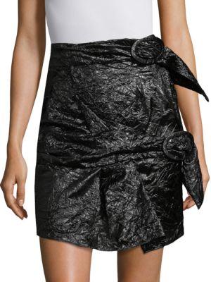 Carmen March  Carmen March Parachute Silk Mini Skirt
