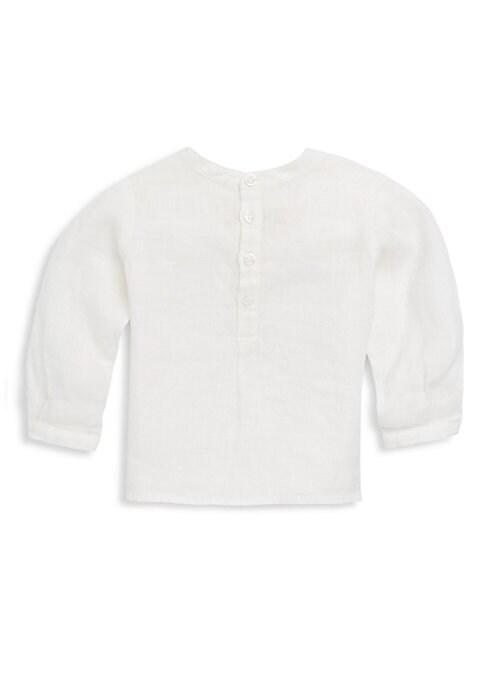 Babys  Toddlers LongSleeve Linen Top