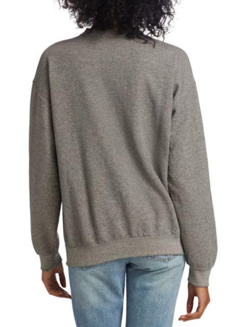 MadeWorn Rolling Stones Sequin Sweatshirt   SaksFifthAvenue