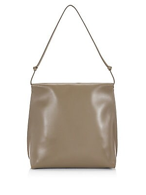 The Row Wander Leather Shoulder Bag