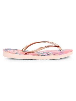 553d54a3d9700a Havaianas - Slim Tropical Flip Flops - saks.com