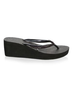 High Metal Grega Flip-Flops, Black from 6PM.COM