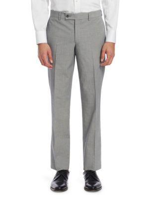 MODERN Micro Check Seersucker Trousers