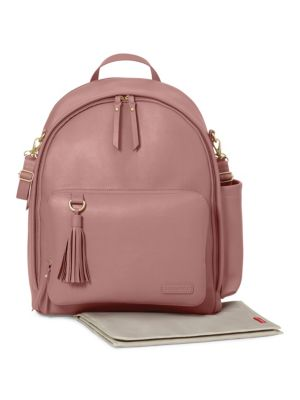 SKIP HOP Greenwich Simply Chic Backpack in Pink