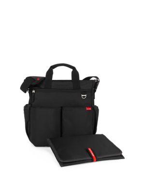 SKIP HOP Duo Signature Diaper Bag in Black