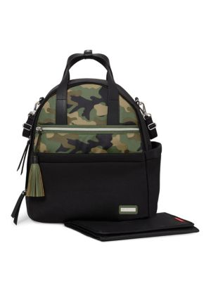 SKIP HOP Nolita Neoprene Backpack in Black