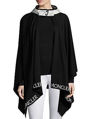 6b598519b Moncler - Hooded Cape - saks.com
