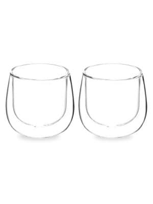 Grosche Two Piece Fresno Double Walled And Without Handle Cups