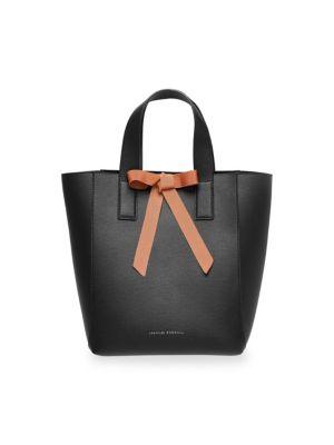 Loeffler Randall Leathers Pebble Leather Ribbon Shopper Bag