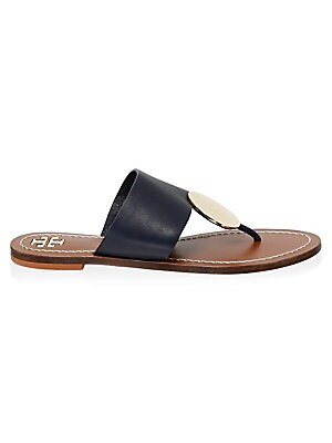 34729bfc45ffb Tory Burch - Miller Leather Thong Sandals - saks.com