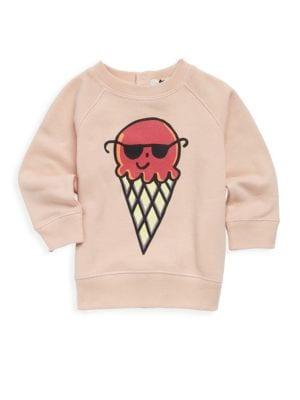Babys Ice Cream Cotton Sweatshirt