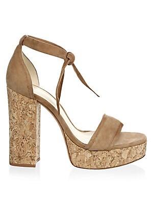 ba4ebd6e81d Alexandre Birman - Celine Suede Platform Sandals - saks.com