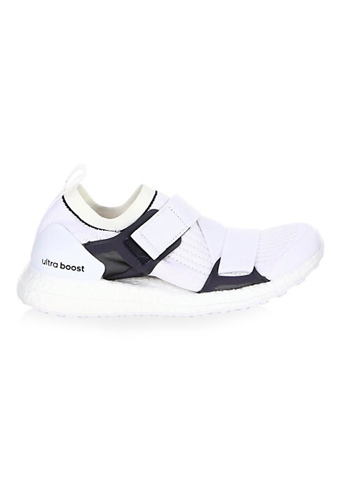 Image of Colorblock trim accentuates rib-knit texture on sneakers. Textile and rubber upper. Round toe. Lace-up grip tape closure. Textile lining. Rubber sole. Imported.