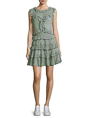 424af020aaa52 Rebecca Taylor - Vine Ruffle Dress - saks.com