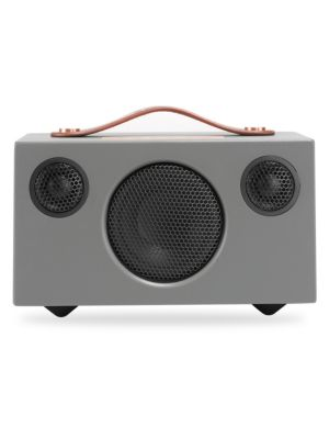 Image of This portable Bluetooth speaker has an impressive sound quality with crisp, clear treble and a deep, bass response. It offers easy to use, simple operation, portability, and sound that will impress even the most seasoned audio enthusiast. Easy portability