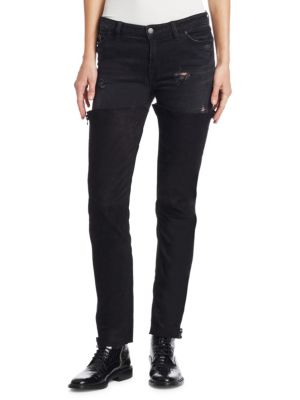 THE ALCHEMIST Turner Chap Jeans in Black