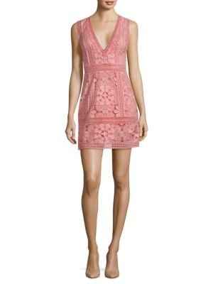 Alice And Olivia  Zula Lace Mini Dress