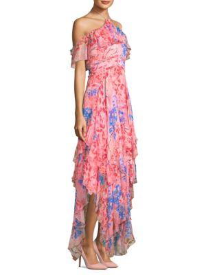 Alice And Olivia  Galina Handkerchief Maxi Dress