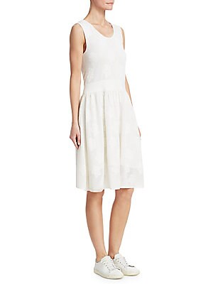 """Image of Roundneck Sleeveless Pullover style Elasticized waist About 40"""" from shoulder to hem Cashmere/virgin wool/silk Dry clean Made in Italy Model shown is 5'10"""" (177cm) wearing US size 4. Designer Lifest - Designer Lifestyle Sport > Saks Fifth Avenue. Barbara"""