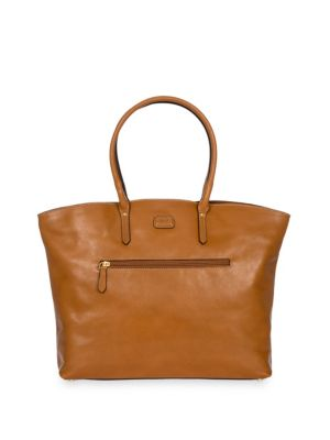 Bric S Classic Leather Tote