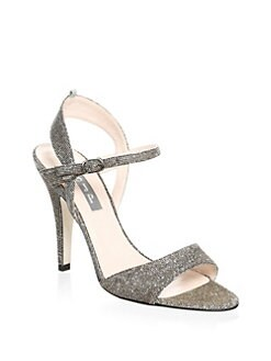 834f2243887 SJP by Sarah Jessica Parker Ramsey Glitter Sandals from Saks Fifth ...