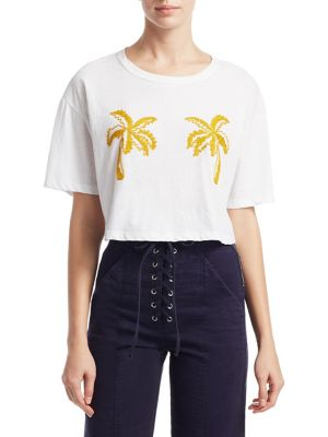 Teagan Palm Tree Tee by A.L.C.