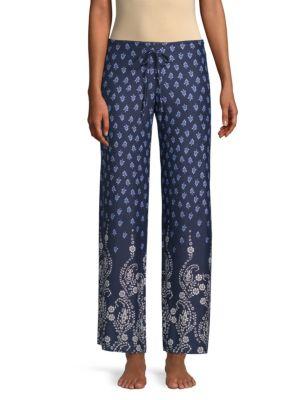 In Bloom Dandelion Printed Pajama Pants
