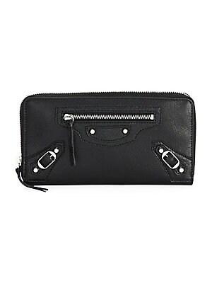 86e54185581f8e Balenciaga - Arena Leather Continental Wallet - saks.com