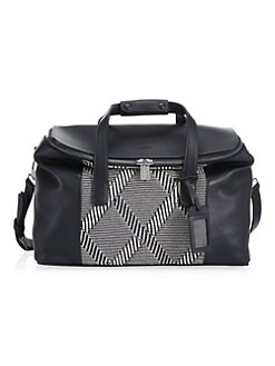 334d9d2450 Product image. QUICK VIEW. Emporio Armani. Textured Leather Travel Bag