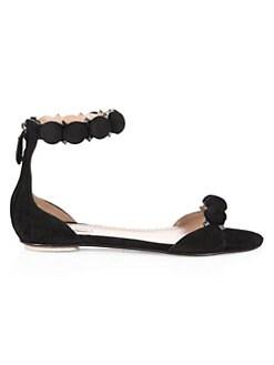 Sneaker Boutique Diane Von Furstenberg Leather Sandals Light Brown Kara